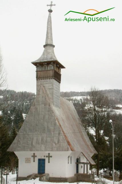 Biserica veche din Arieseni - Înălțarea Domnului