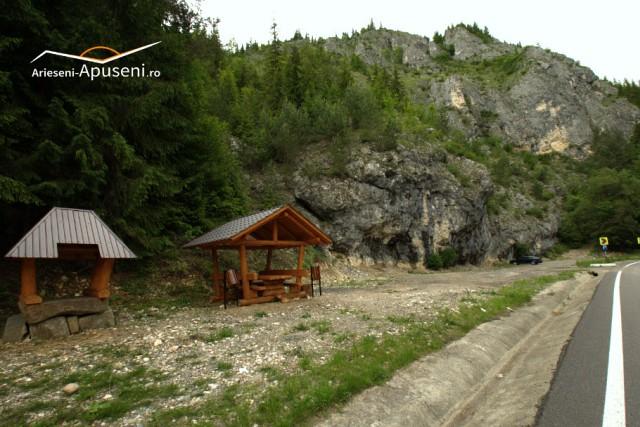 Cheile Arieșului - în Parcul Natural Apuseni - obiectiv turistic spectaculos.