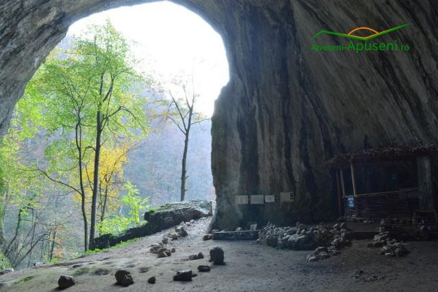 Obiectiv turistic Arieseni-Apuseni: Peștera Meziad